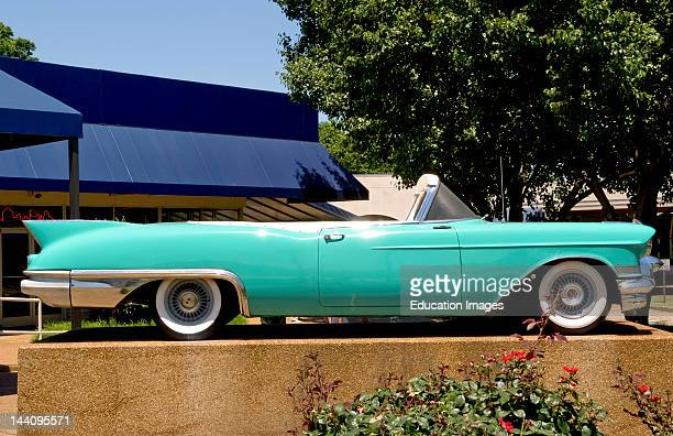 Elvis Presley Cadillac At Graceland In Memphis Tennessee