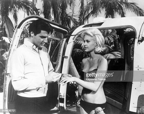 Elvis Presley Et Suzanna Leight Dans Le Film 'Paradise ...