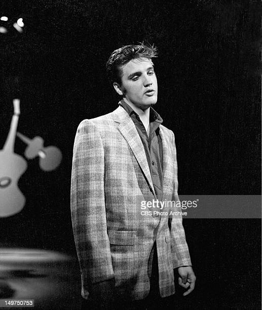 Elvis Presley making his first appearance on 'The Ed Sullivan Show' in Los Angeles Calif on September 9 1956