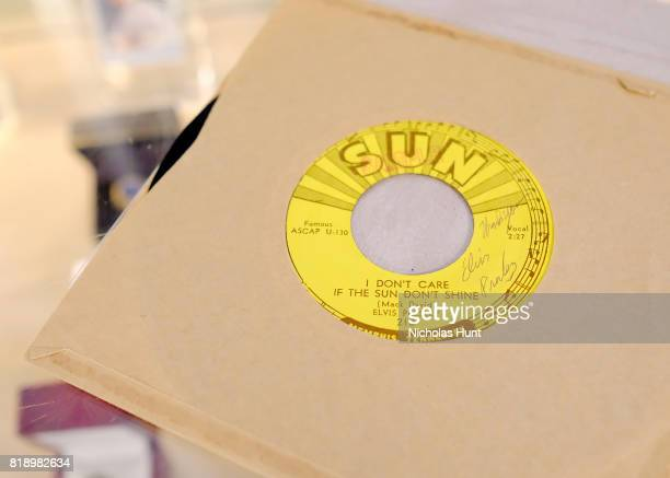 Elvis Presley Signed I Don't Care If The Sun Don't Shine Sun Records 45 for auction at Gotta Have It store on July 19 2017 in New York City