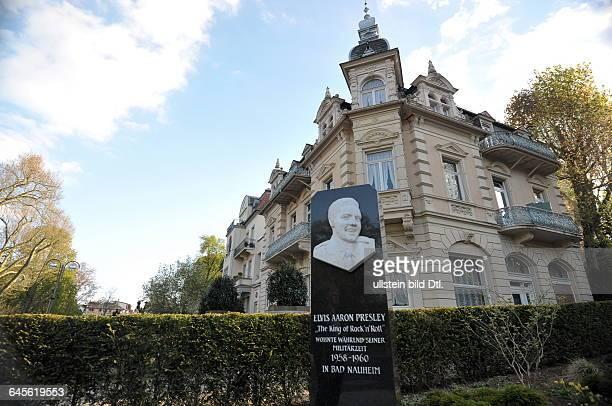Elvis Presley und seine Frau wohnten von 1958 bis 1960 im Hotel Grunewald in Bad Nauheim während er im USMilitär in Wiesbaden diente Der Platz vor...