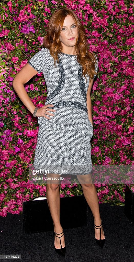 Elvis Presley's granddaughter actress/model Riley Keough attends the 8th annual Chanel Artists Dinner during the 2013 Tribeca Film Festival at The Odeon on April 24, 2013 in New York City.