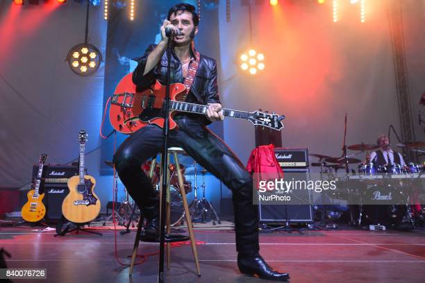 'Elvis Rock amp Roll' concert by Piotr Skowronski The King`s Friends from Warsaw during the Tribute to Elvis festival with many events organised over...