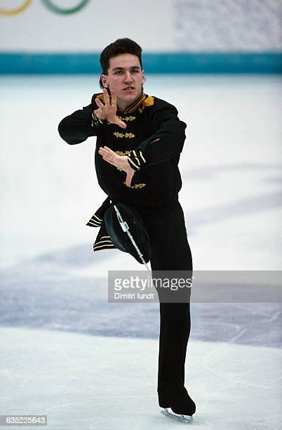 Elvis Stojko from Canada at the 1994 Winter Olympics.