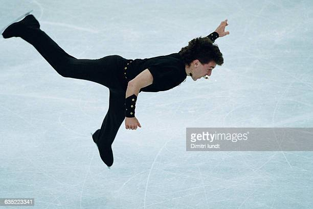 Elvis Stojko from Canada competes at the 1997 World Championships.