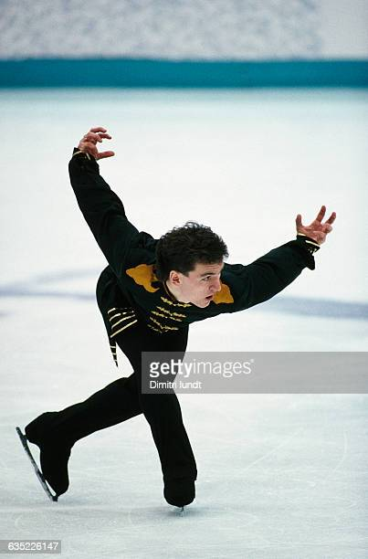 Elvis Stojko from Canada during the 1994 Winter Olympics.