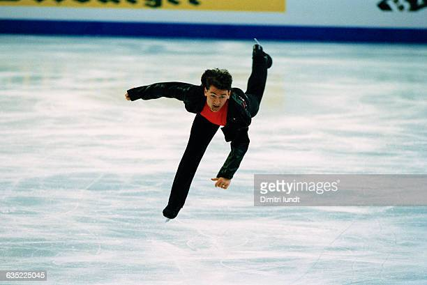 Elvis Stojko from Canada during the 1997 World Championships.