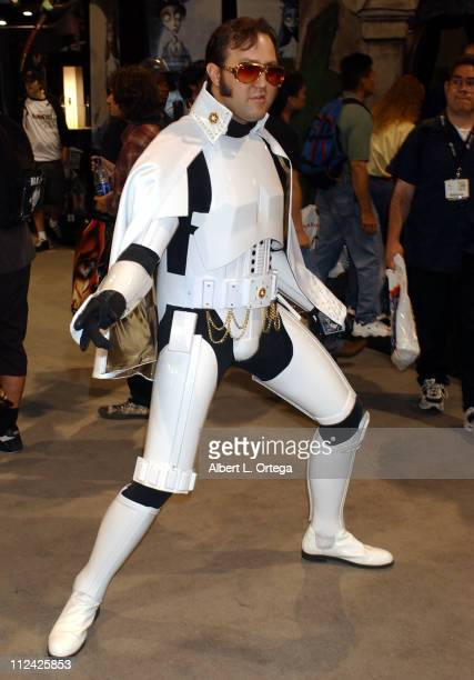 Elvis Trooper during 36th Annual Comic Con International - Day One at San Diego Convention Center in San Diego, California, United States.