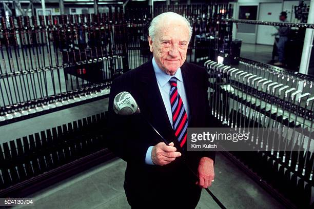 Ely Callaway CEO of Callaway Golf the man who revolutionized golf for pros and weekend hackers alike with Big Bertha brand golf clubs died after a...