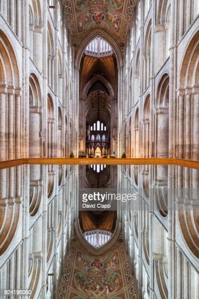 ely cathedral, ely, cambridgeshire - ケンブリッジシャー州 ストックフォトと画像