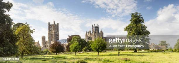 Ely Cathedral in the city of Ely, UK.