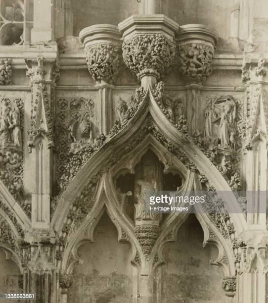 Lady Chapel, Details, circa 1891. Lantern slide. Artist Frederick Henry Evans.