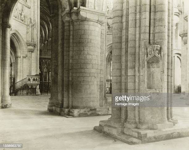 Octagon to Choir from North Nave Aisle, circa Lantern slide. Artist Frederick Henry Evans.
