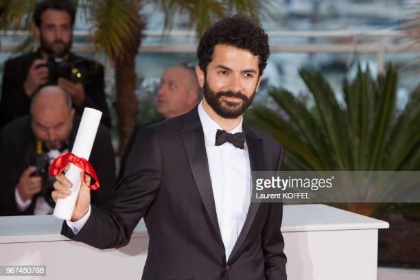 Ely Dagher au Photocall du Palmarès du 68e Festival de Cannes au Palais des Festivals le 24 mai 2015 Cannes France Film WAVES98