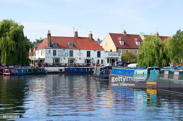 Ely on the River Great Ouse.