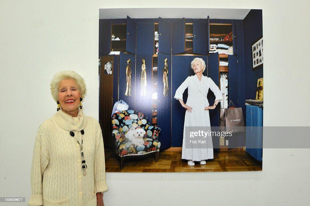 Elyane Monge attends 'Les Parisiennes' - Photo Exhibition Preview at Galerie Clementine De La Feronniere on November 8, 2012 in Paris, France.