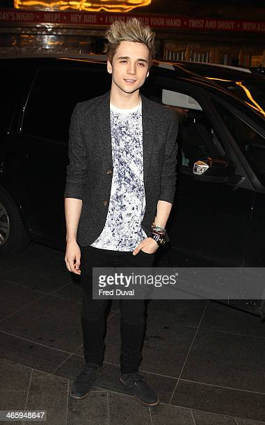 Elyar Fox attends 'Kate Moss At The Savoy' an exhibition of never before seen photographers of Kate Moss at The Savoy Hotel on January 30 2014 in...