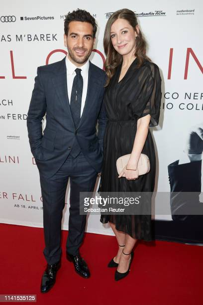 Elyas M'Barek and Alexandra Maria Lara attend the Der Fall Collini premiere at Zoo Palast on April 09 2019 in Berlin Germany