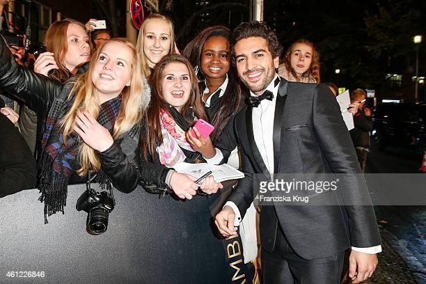 Elyas M'Barek arrives at the Bambi Awards 2014 on November 13 2014 in Berlin Germany