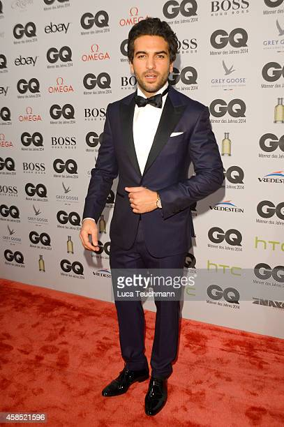 Elyas M'Barek arrives at the GQ Men of the Year Award 2014 at Komische Oper on November 6 2014 in Berlin Germany