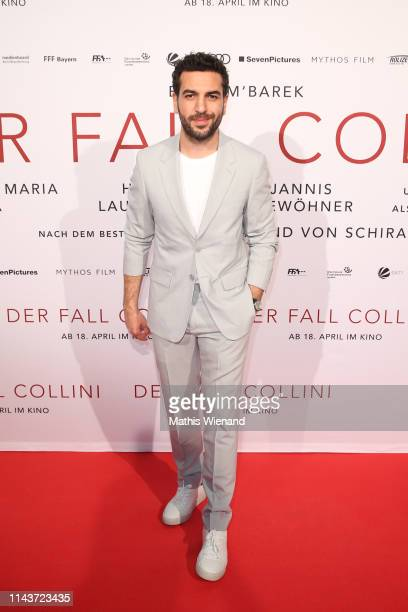 Elyas M'Barek attends the Der Fall Collini premiere at Cinedome on April 18 2019 in Cologne Germany