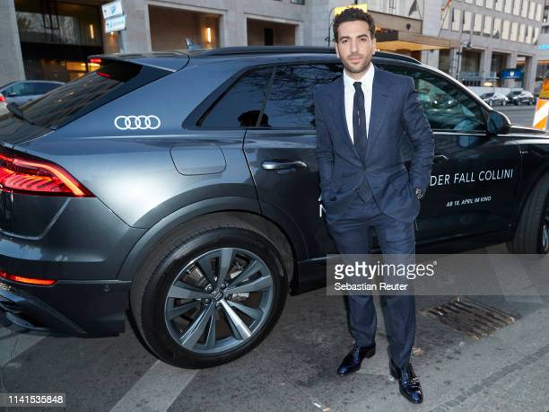 Elyas M'Barek attends the Der Fall Collini premiere at Zoo Palast on April 09 2019 in Berlin Germany