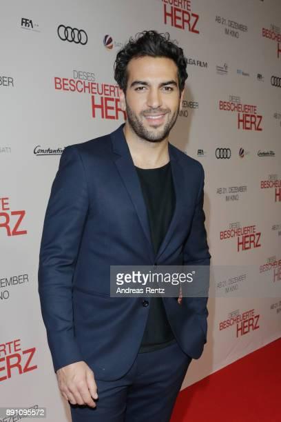 Elyas M'Barek attends the 'Dieses bescheuerte Herz' premiere on December 12 2017 in Berlin Germany
