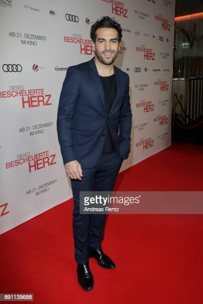 Elyas M'Barek attends the 'Dieses bescheuerte Herz' premiere on December 12, 2017 in Berlin, Germany.