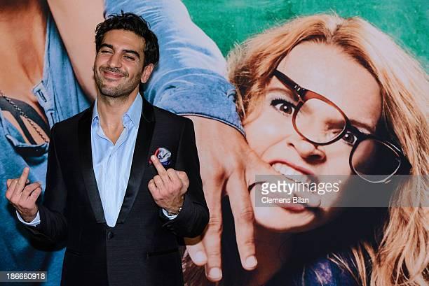Elyas M'Barek attends the 'Fack Ju Gohte' Berlin Premiere at CineStar on November 2 2013 in Berlin Germany