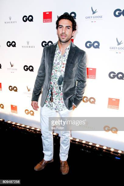 Elyas MBarek attends the GQ Mension Style Party 2017 at Austernbank on July 5 2017 in Berlin Germany
