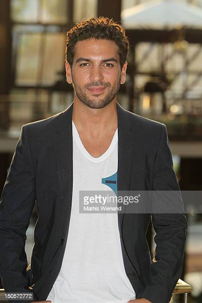 Elyas M'Barek attends the 'Heiter Bis Wolkig' Germany Premiere at Cinedome on MediaPark on August 21 2012 in Cologne Germany