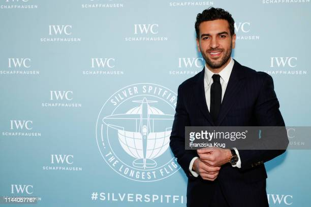 Elyas M'Barek attends the IWC Schaffhausen Pilots Watches Launch Event Boutique in Munich on May 16 2019 in Munich Germany