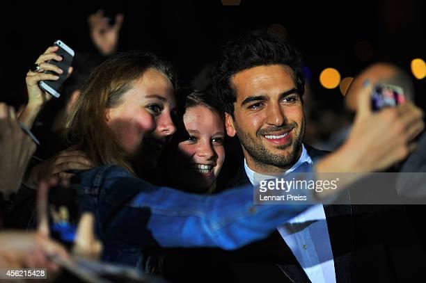 Elyas M'Barek attends the 'Maennerhort' Green Carpet Arrivals during Day 3 of Zurich Film Festival 2014 on September 27 2014 in Zurich Switzerland
