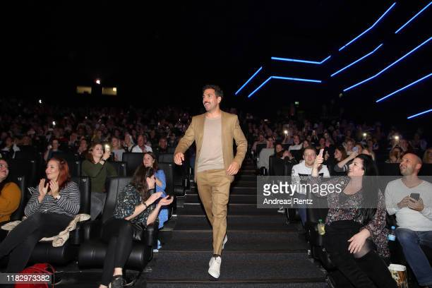 Elyas M'Barek attends the premiere of Das perfekte Geheimnis on October 23 2019 in Cologne Germany