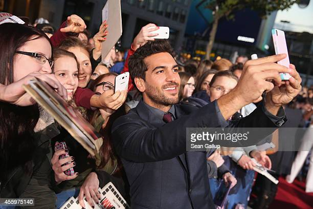 Elyas M'Barek attends the premiere of the film 'Who am I' at Zoo Palast on September 23, 2014 in Berlin, Germany.