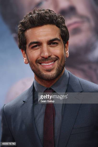 Elyas M'Barek attends the premiere of the film 'Who am I' at Zoo Palast on September 23 2014 in Berlin Germany