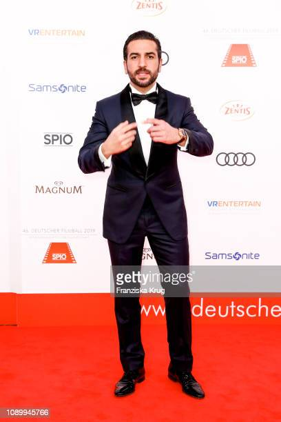 Elyas MBarek during the 46th German Film Ball at Hotel Bayerischer Hof on January 26 2019 in Munich Germany