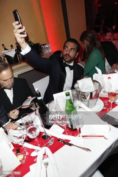 Elyas M'Barek during the 46th German Film Ball at Hotel Bayerischer Hof on January 26 2019 in Munich Germany