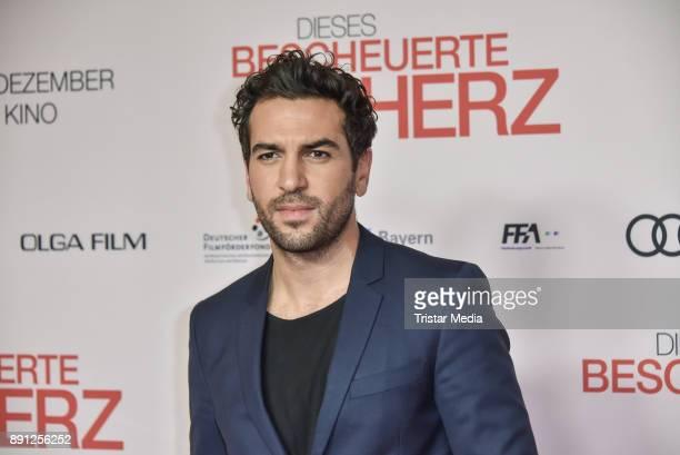 Elyas MBarek during the 'Dieses bescheuerte Herz' premiere on December 12 2017 in Berlin Germany