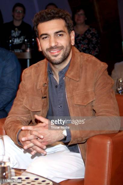 Elyas M'Barek during the NDR Talk Show on April 12 2019 in Hamburg Germany