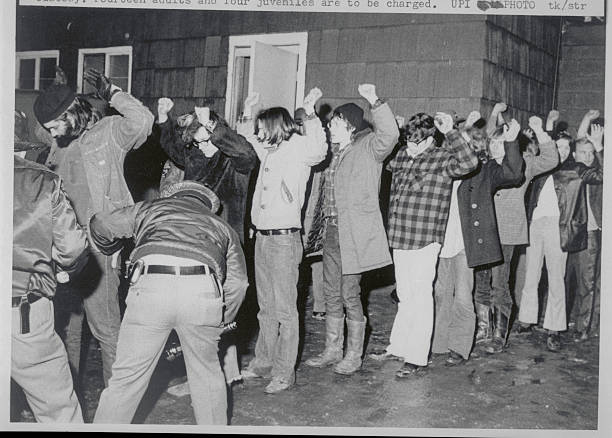Police Examining Patrons of Club for Drug Paraphernalia