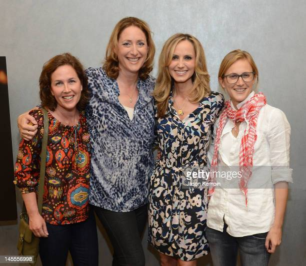 Elysa Halpern Judy Gold Chely Wright and Lauren Blitzer attend the Chely Wright Wish Me Away New York Screening at Quad Cinema on June 1 2012 in New...