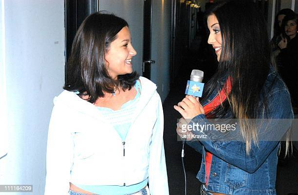Elysa Scafidi from New Jersey and Chelsea Brummet from Nickelodeons All That*Exclusive*