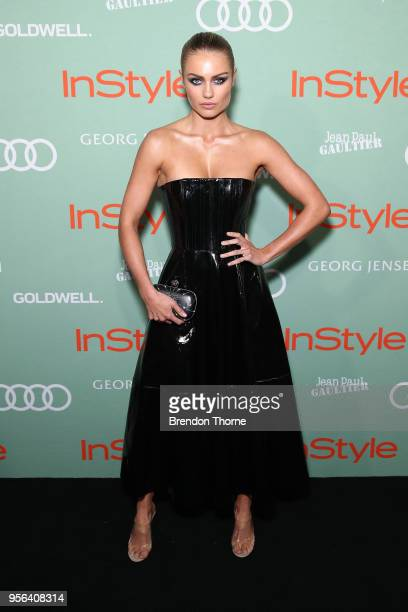 Elyse Knowles attends the Women of Style Awards on May 9 2018 in Sydney Australia