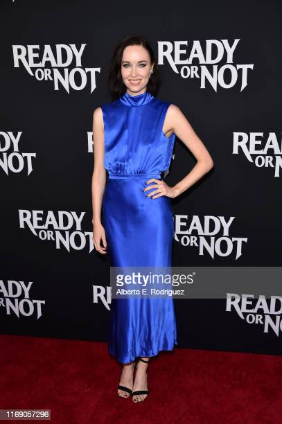 """Elyse Levesque attends the LA Screening Of Fox Searchlight's """"Ready Or Not"""" at ArcLight Culver City on August 19, 2019 in Culver City, California."""
