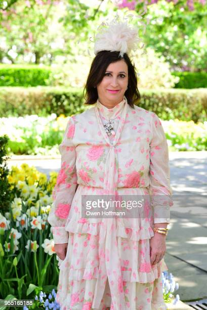 Elyse Newhouse attends 36th Annual Frederick Law Olmsted Awards Luncheon Central Park Conservancy at The Conservatory Garden in Central Park on May 2...