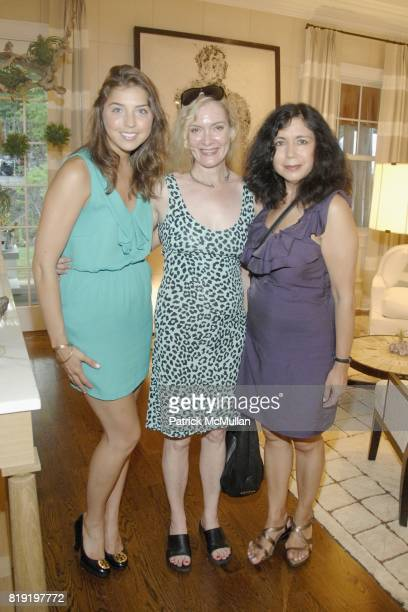 Elyse Petrella Diane Nuttall and Danielle Cheng attend The 2010 Hampton Designer Showhouse presented by Traditional Home to benefit Southampton...