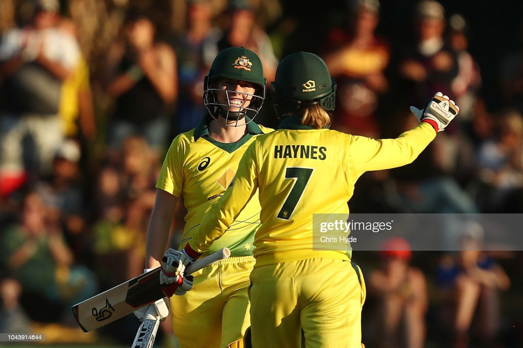 Australia v New Zealand - 2nd T20 : News Photo