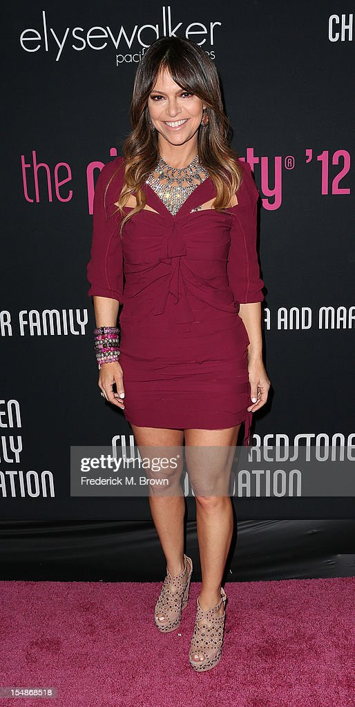 Elyse Walker attends Elyse Walker Presents The Eighth Annual Pink Party Hosted By Michelle Pfeiffer To Benefit Cedars-Sinai Women's Cancer Program at Barkar Hangar Santa Monica Airport on October 27, 2012 in Santa Monica, California.