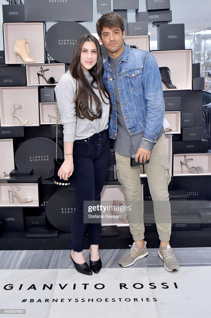 Georgie Flores, Nicole Yoone, Zolee Griggs and Barneys New York Celebrate #BarneysShoeStories : News Photo